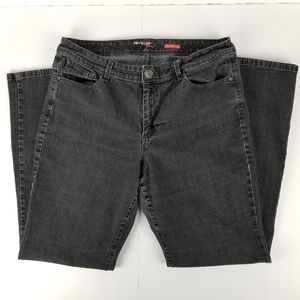 Style & Co. Black straight leg jeans in size 16